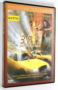 DVD-3-A-M-OMICIDI-NELLA-NOTTE-2001-Azione-Danny-Glover-Michelle-Rodriguez