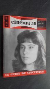 Rivista per Lettera Cinema N° 28 Giugno 1958 ABE