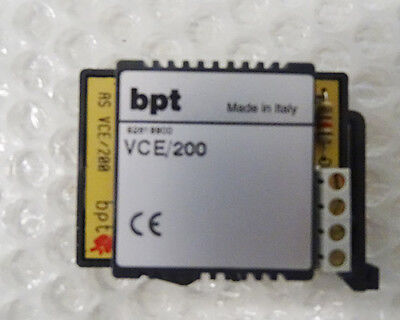 Vce/200 - Bpt - 62819900 - Ruftonverlängerer - Din - Vce200 - Einheit