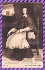 CPA - 60 - PH CHAMPAIGNE - Porträt des Cardinal Mazarin Museum condé
