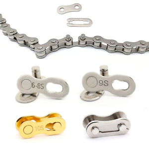 20pcs Bicycle Bike Chain Master Link Joint Connector Single Speed Quick Clip Set