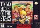 Tecmo Secret of the Stars (Super Nintendo Entertainment System, 1995)