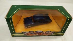 Corgi-Clasico-Coches-1-43-D710-Azul-Diecast-Ford-Zephyr-MK-2-Modelo-de-Coche-de-Juguete-2553cc