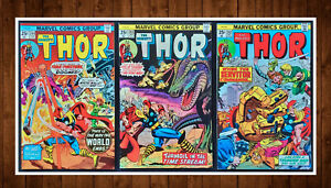 Lot-of-3-The-Mighty-Thor-242-9-0-243-6-0-244-9-0-See-Listing-for-Details