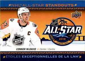 2018-19 Upper Deck Tim Hortons NHL All Star Standouts Connor McDavid #AS-1