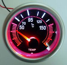 Oil Temperature Gauge 50 150 C 252mm Smoke Colored Lens Withtemp Sending Unit
