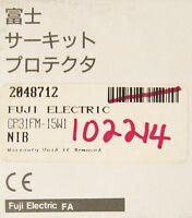Fuji Electric Cp1 Fm 15 W1 Time Delay Circuit Breaker Single Pole Cp1 Fm/15-w1