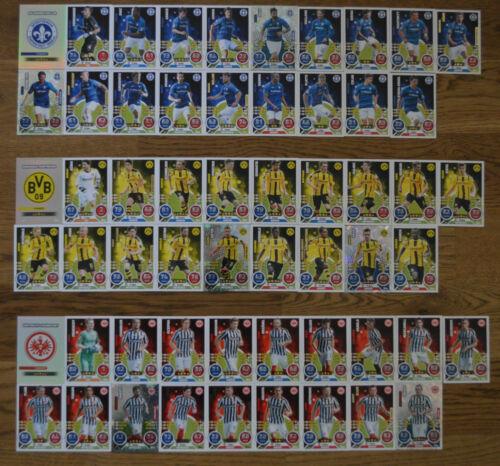 Match Attax 16//17 Basic Cards choose No 55-108 Topps 2016//2017