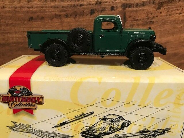 1998 MATCHBOX 1946 Dodge Power Wagon WDX-Échelle 1 43 - Comme neuf IN BOX YTC02-M