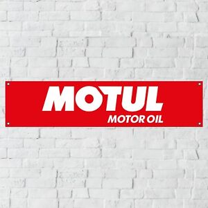 Motul Motor Oil Banner Motor Oil Garage Workshop PVC Sign Trackside Motorcycle