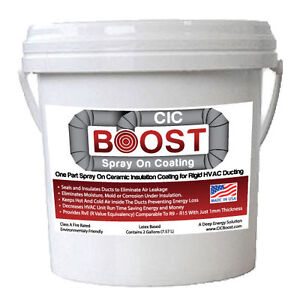 Details about CIC Boost 2 gal  Thermal Ceramic Insulation -Block Heat  -Prevent Corrosion