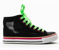 Shumaxx Womens Footwear Mesh Colour Block Trainers Black Shoes Uk Size 5 Eu 38
