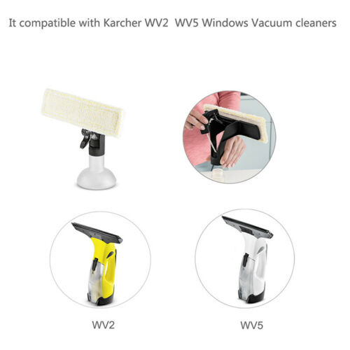 2PCS Microfaser Wischtuch Für Karcher WV2 WV5 WV 50 Plus WV 60 Plus WV 75 Plus