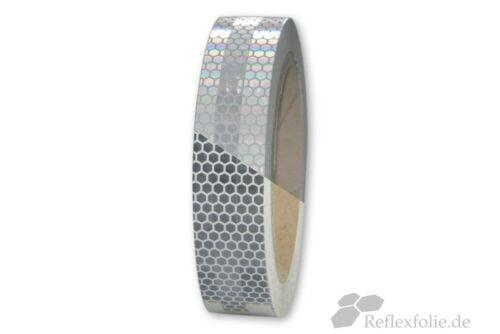 5m x 25mm 3M™ Reflexband Reflexfolie Konturmarkierung 823i silberweiß