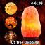 Gift 4-6LBS Himalayan Crystal Natural Rock Salt Lamp Natural Healing Ionizing