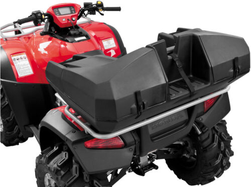 Quadboss Weekender ATV Rear Seat Rack Cargo Storage Trunk Box Passenger Luggage