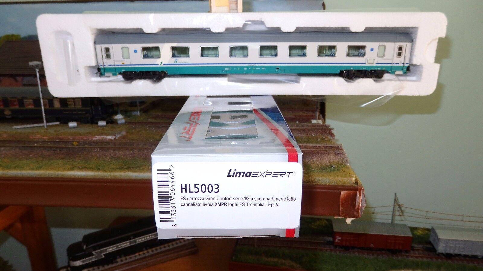 LIMA EXPERT HL5003 G. Confort 1985 XMPR, logo FS Trenitalia, tetto cannellato