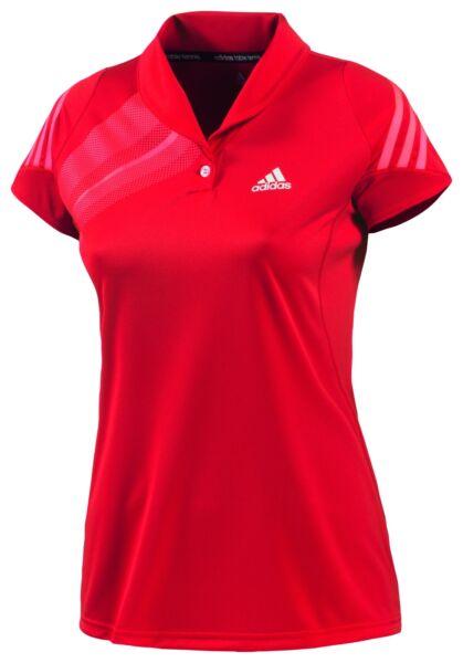 Adidas Atake Polo Women rot NEU