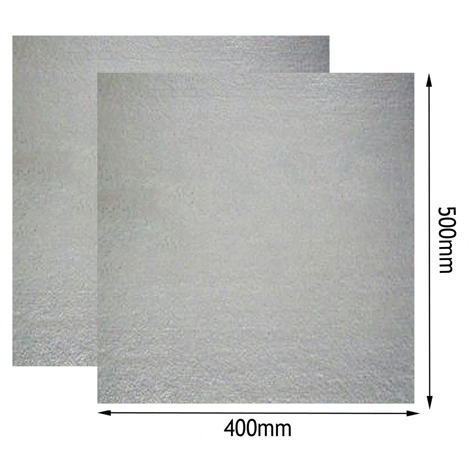 Universal Wave Guide MICA Roof Liner Cover for GOODhommeS Microwave 400x500mm x 2