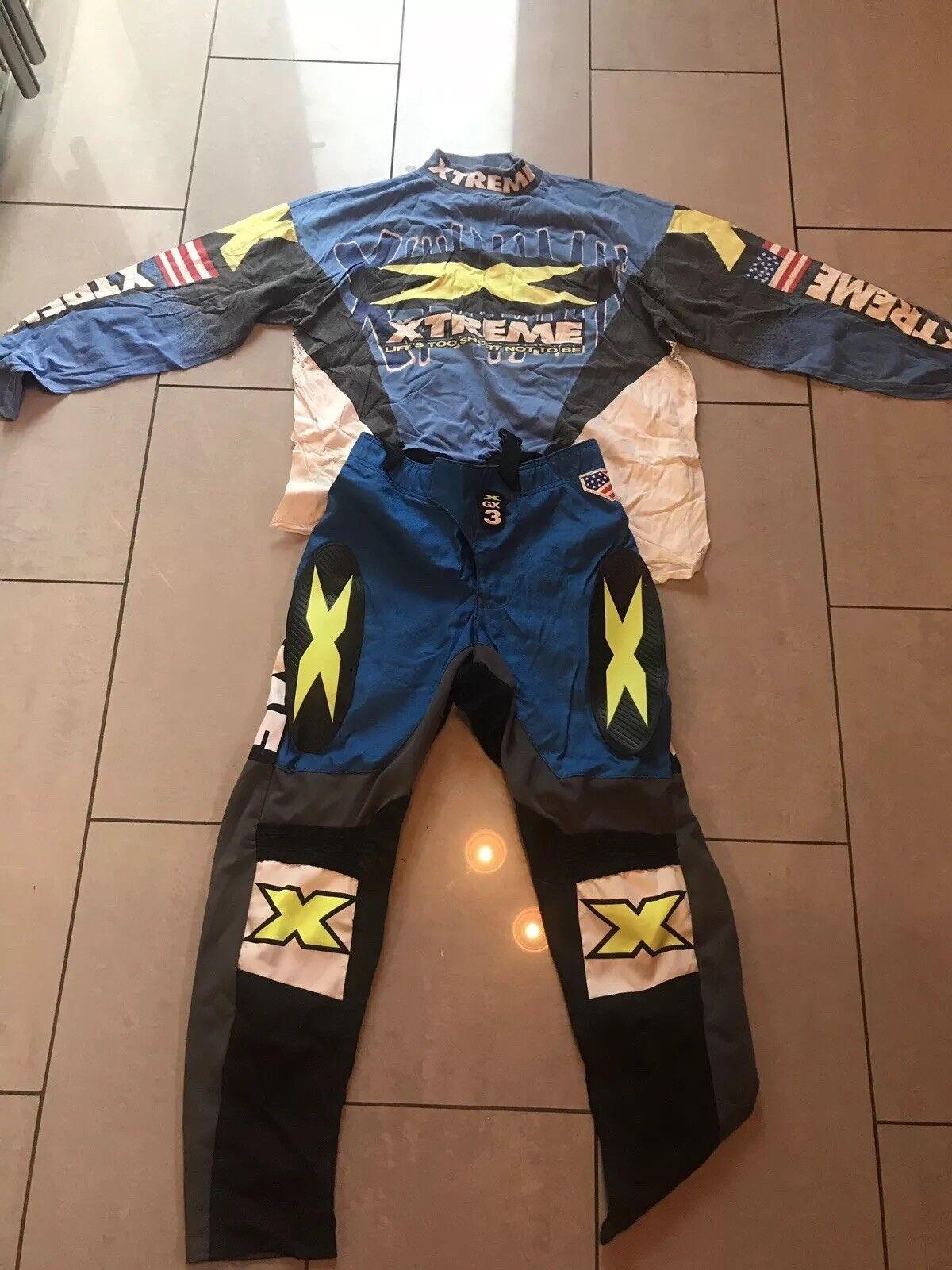 Xtreme  Evo Motocross Clothing Vintage  10 days return