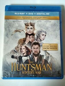 The Huntsman: Winters War Extended Edition Blu-Ray + DVD + Digital Code Complete