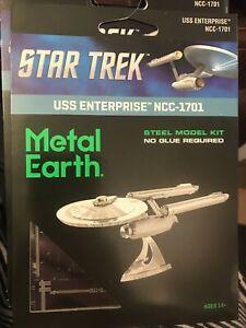 Steel Model Kit Star Trek Enterprise NCC-1701 Collectable