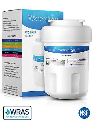 5 x wf07 Smartwater tipo Filtri Acqua per GE MWF Gwf Frigorifero Congelatore Cartuccia