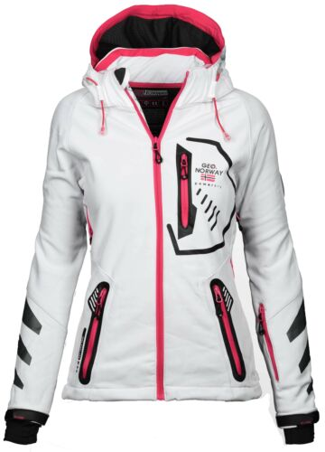 Geographical Norway Chaqueta Softshell para Mujer Lluvia Exterior S-XXL