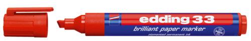 edding 33 Pigmentmarker Brilliant Paper Marker 1-5mm Farbe wählbar