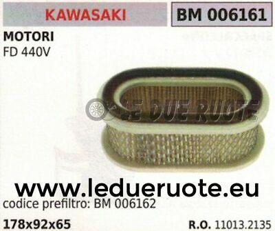 110132135 Filtro Aria Completo Motore Kawasaki Fd440v Fd440 178x92x65 Disabilità Strutturali