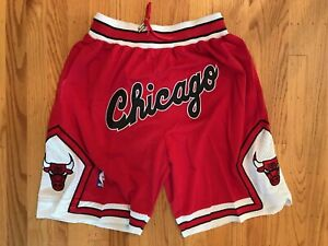 Chicago-Bulls-Red-Throwback-Just-Don-Summer-League-Time-Team-Basketball-Shorts