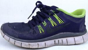 22cc623e1a38 Nike H20 Repel Free 5.0 Shield Purple   Black Athletic Shoes Sz 7.5 ...