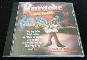 CD-G-Karaoke-en-Folie-60-70-Les-Annees-Yeye-8-Songs
