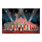 Circus Party Giant Carnival Big Top Backdrop Wall Decoration Banner Poster