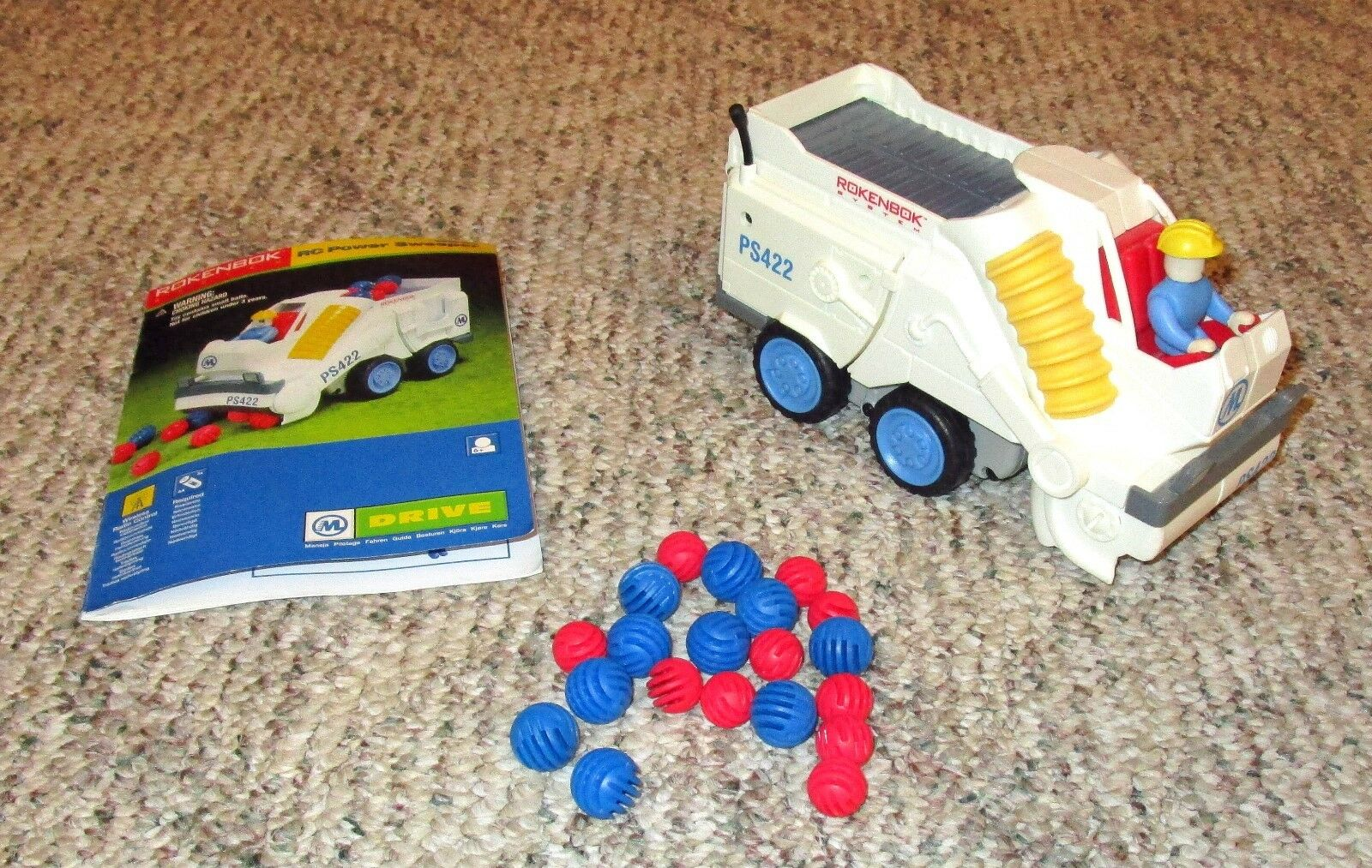 Rokenbok RC Power Sweeper – complete