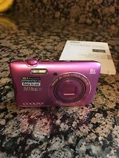 Nikon COOLPIX S3700 20.1 MP Digital Camera - Pink