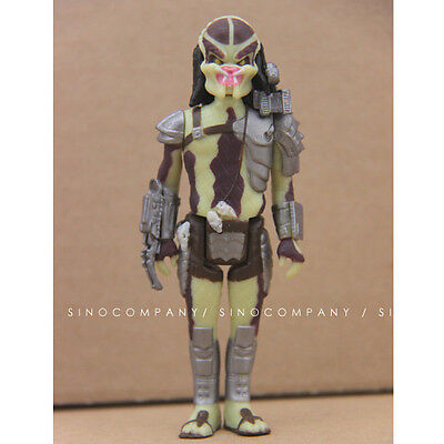 "CLOSED MOUTH PREDATOR Predator 3 3//4/"" inch Reaction Retro Action Figure 2014"