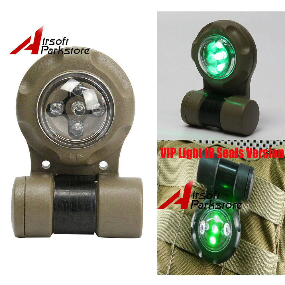 VIP IR LED Safety Signal Light Outdoor Belt Clip Strobe Light Navy Seal Light