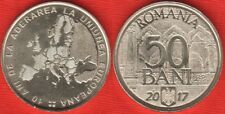 "Romania 50 Bani 2017 ""european Union"" UNC"