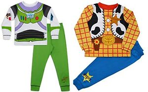 Buzz-Lightyear-Pyjamas-Novelty-Fancy-Dress-PJs-Ages-18-months-to-6-Years-Old