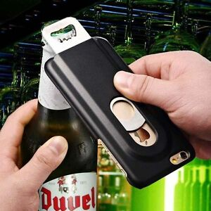 Cool-Beer-Bottle-Opener-Phone-Case-Metal-PC-Hard-Back-Cover-For-iPhone-6-6S-7-8