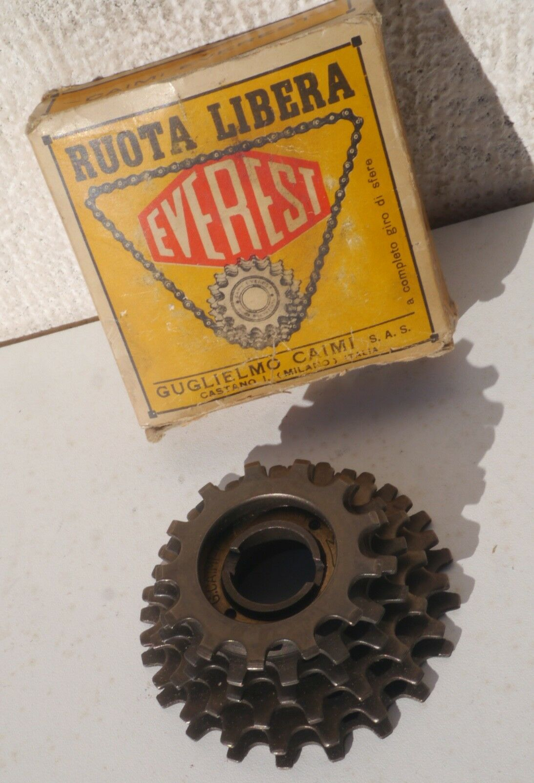 NIB Caimi Everest Special Corse 6s 13-20 freewheel, for vintage road bike