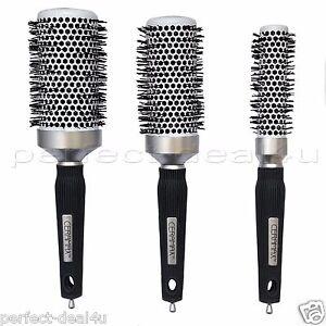 Ceramic Blow Dry Hair Brush Professional Round Salon Big