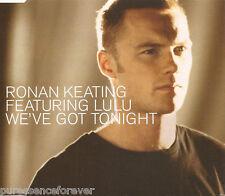 RONAN KEATING ft LULU - We've Got Tonight (UK 4 Tk Enh CD Single)