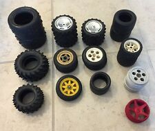 RC Rubber Rims Tire Wheel Lot Hurricane Traxxas Bridgestone Big Beast Off Road