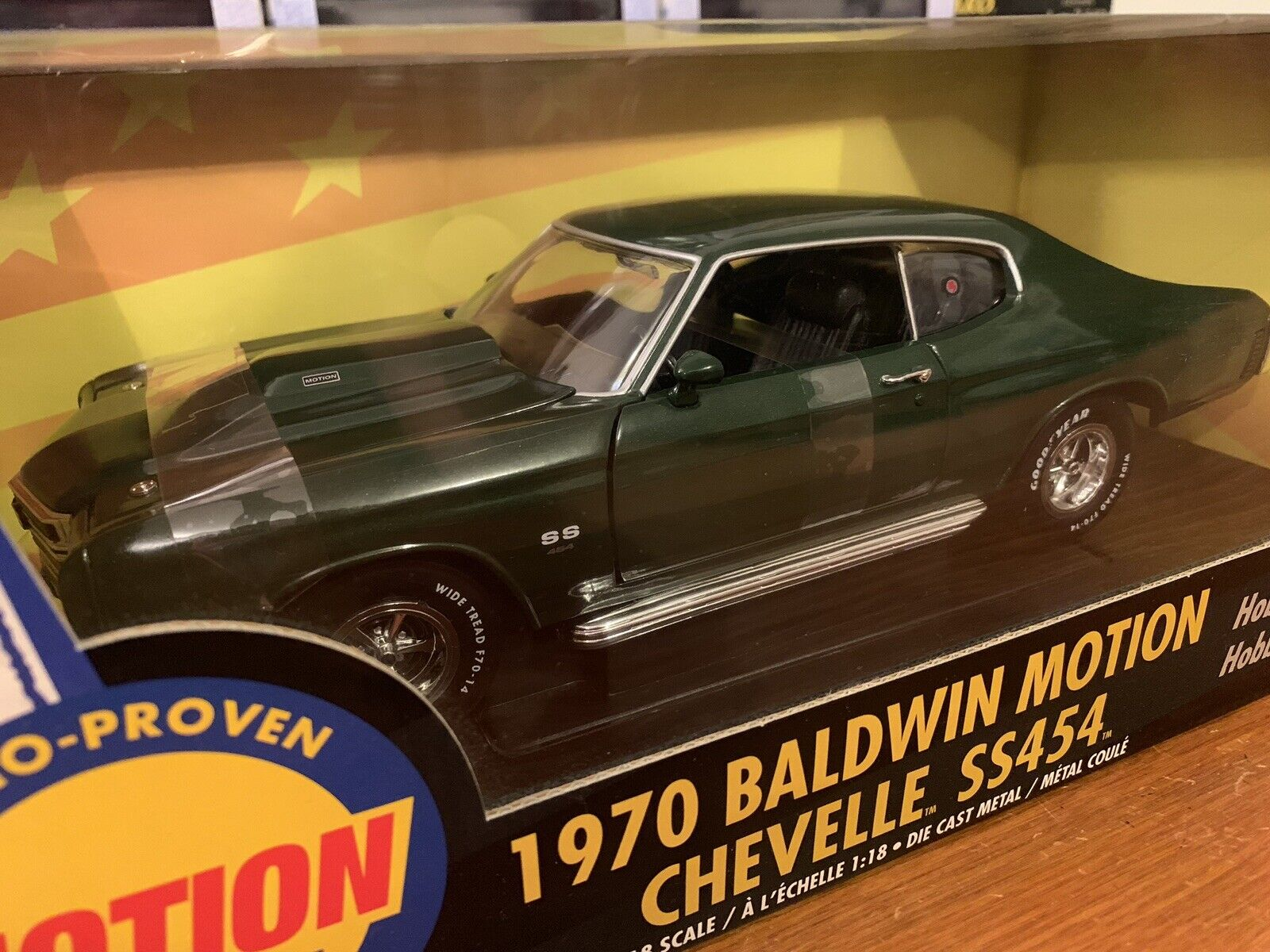 Ertl 1 18 1970 Chevy Chevelle SS454 Baldwin Motion 1 Of 5000 Item 36675