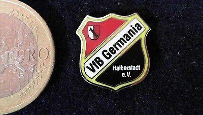 Fussball Dfb Original Lizenzlogo Regionalliga Pin Badge Vfb Germania Halberstadt Ausgezeichnet Im Kisseneffekt