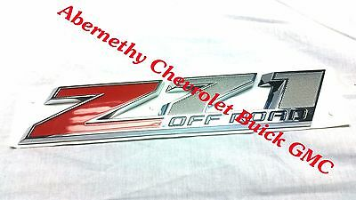 2015-2018 Chevrolet Silverado New Style Z71 Off Road Door Emblem OEM 23465289 GM