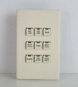 A311 LiteTouch// Savant 9 Button Keypad Dimmer Black Buttons