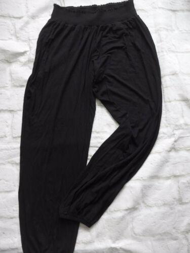215 331 Sheego Pantalon stoffhose la bande élastique taille 44 à 46 noir clouté 689
